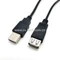 USB2.0 A male to female extension cable