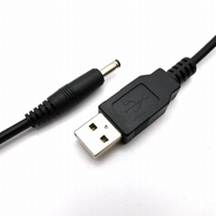 USB2.0公對DC3.5音頻頭電源線
