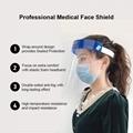 厂家直销全脸面罩防护面罩防飞沫面罩防风护脸面具隔离面罩