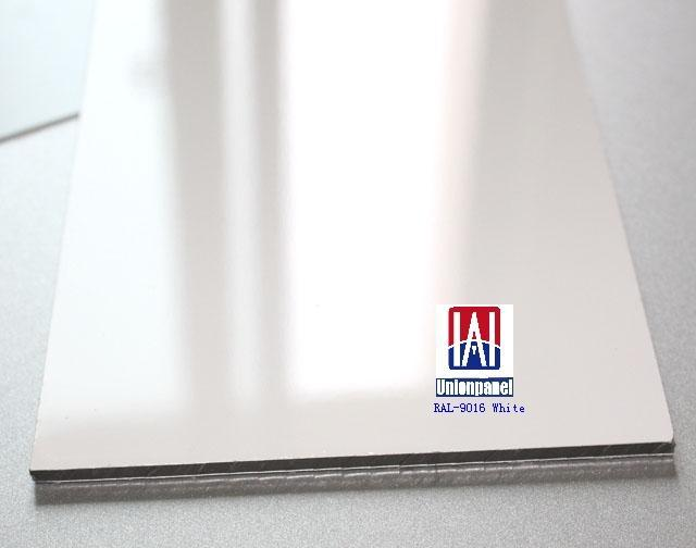 High Gloss Polyester Coated Aluminium Composite Panel