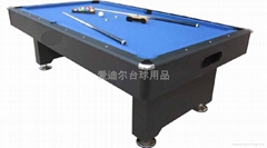 7' pool table with ball ruturn system