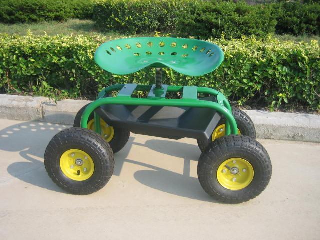 Grinding Wheel With Tractor Seat Garden : Ws rolling work seat china manufacturer garden