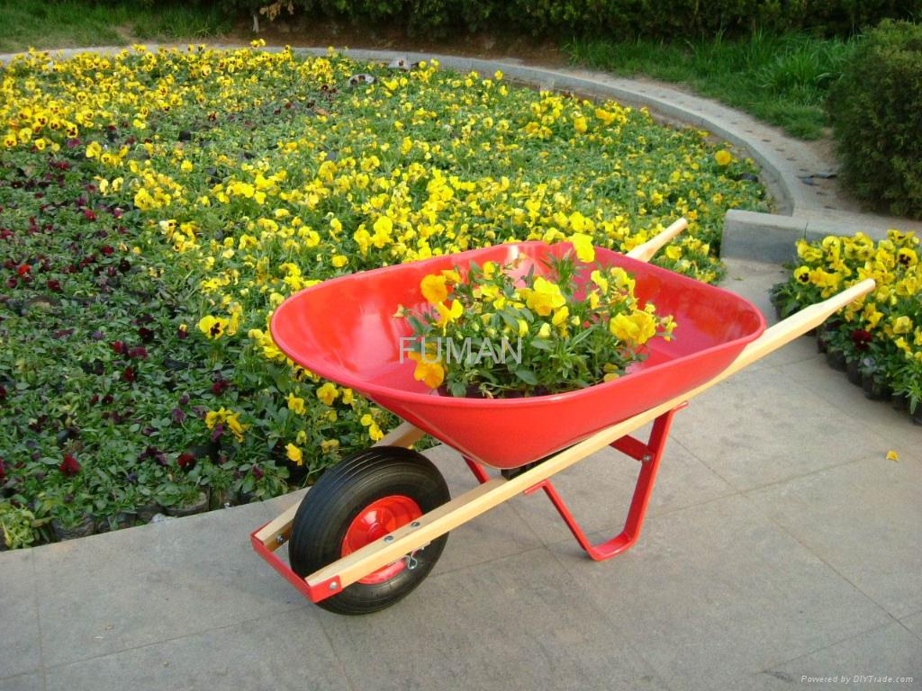 Wb4402 Wheel Barrow For Garden Fuman China Manufacturer
