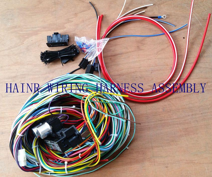 Diy Car Wiring Harness : Wire harness wiring automotive industrial