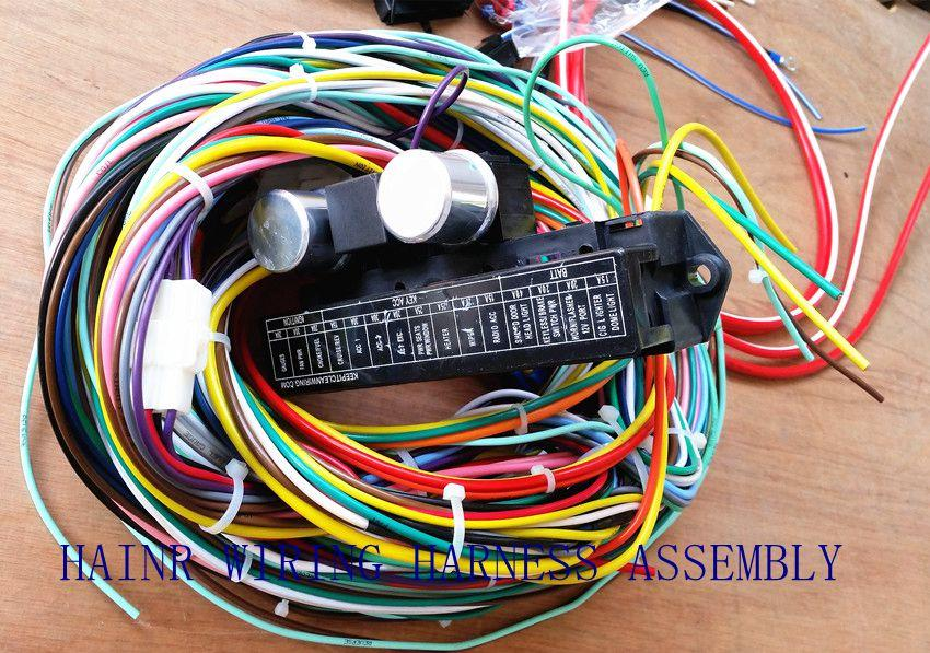 Automotive Wiring Harness Assembly : Wire harness wiring automotive industrial