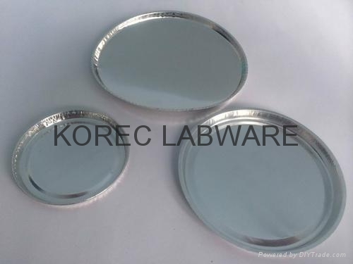 Aluminum weighing moisture drying pan weighing boat/ dish