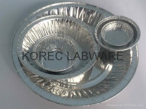 General Purpose Disposable Aluminum Weighing Dishes / Boats / Pans 1