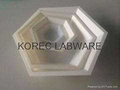 六方塑料称量皿