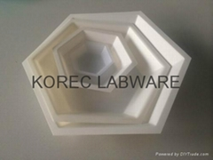 Hexagonal Polystyrene Weighing Dishes (Hot Product - 1*)