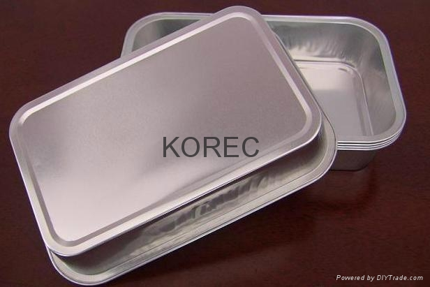 Aluminum foil smooth wall tray  1