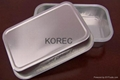 Aluminum foil smooth wall tray