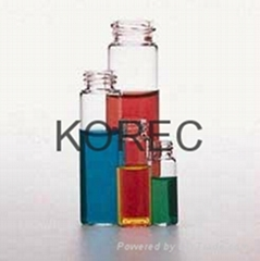Clear Glass Threaded Vial