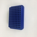 blue 96 well UCoolRack metal thermo