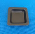 100ml 黑色正四方形塑料称