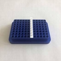 96 well metal aluminum conductive PCR plate test tube cooling rack  4