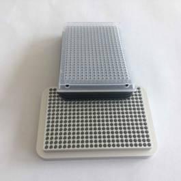 384 well UCoolRack metal microplate microtube plate microcentrifuge test tube ra 4