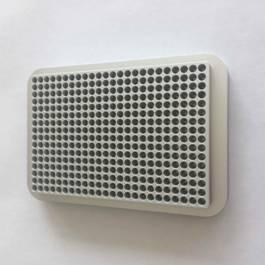 384 well UCoolRack metal microplate microtube plate microcentrifuge test tube ra 1