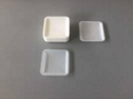 Shallow Flat Square Polystyrene Weighing
