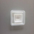 Plastic Anti-Static Square Weighing Dish Square weighing dish for lab 4