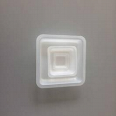 Plastic Anti-Static Square Weighing Dish Square weighing dish for lab