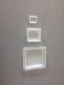 正方形 塑料 稱量皿 秤量船 稱量盤 稱量舟 5