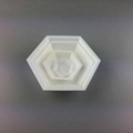 Hexagonal Polystyrene weighing canoes Weighing Dishes,weighing boat,