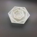 50ML Medium size Hexagonal Antistatic Plastic Polystyrene Sample Weighing Dishes