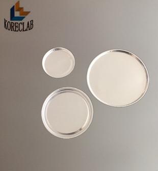 圓形淺底鋁箔稱量盤 1