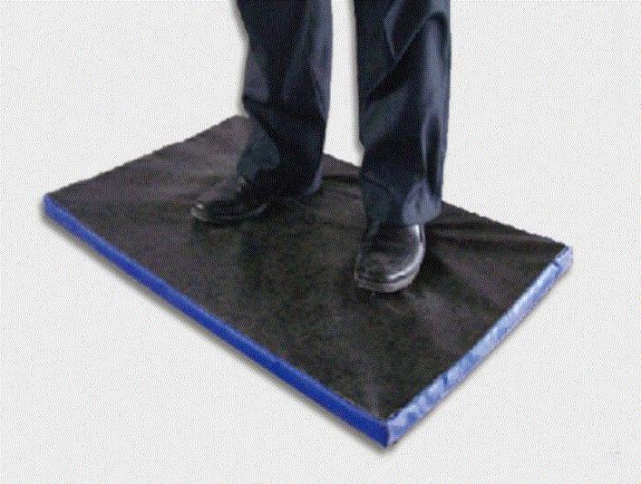 85cm x 54cm x 3cm Animal Husbandry Foot Wear Disinfection Entrance Floor Mat
