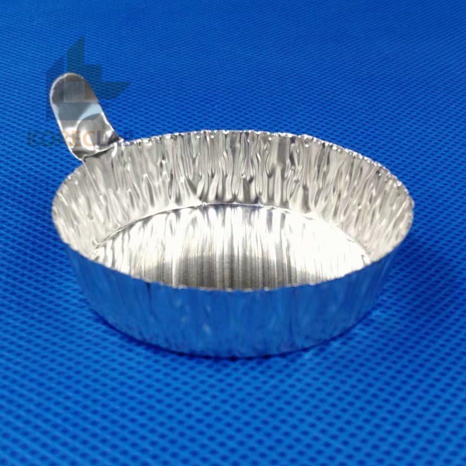 60ml medium size aluminum weighing boat evaporating dish weighing dish 1