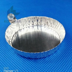 80ml lab supply with tab round aluminum weighing dish