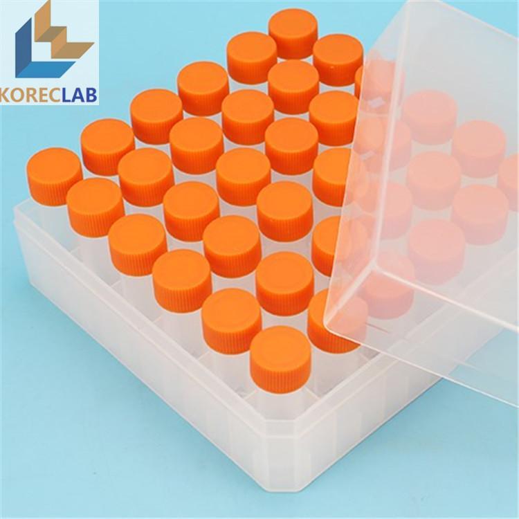 5 ml with Cap Plastic Cryovial Tube Cryogenic Self Standing Vial 2