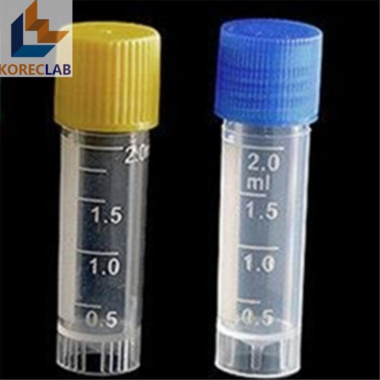 2 ml  with Cap Plastic Cryovial Tube  Cryogenic Self Standing Vial 1