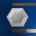 Hexagonal Plastic Weighing Dishes