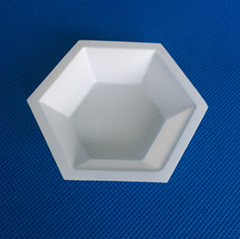 Hexagonal Plastic Coat Epoxy Mixing Dishes Mixing Boats Mixing  Pans