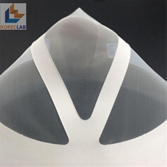 Cone shaped laboratory filter painting usage strainers