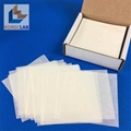 """3"""" x 3"""" (76 x 76 mm) low nitrogen non absorbing high gloss cellulose weighing sc 1"""
