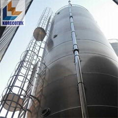Up to 1000CBM Stainless Steel Bulk Storage Containers & Silos