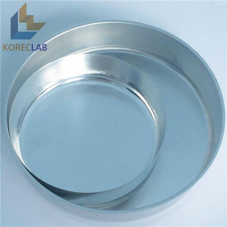OD 102mm Aluminum Round Weighing Pan Weighing Dish 1