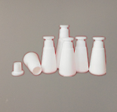 PTFE F4 Teflon Triangle Flask