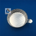 20ml small size with tab round metal weighing pan evaporating  weighing dish