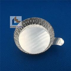 20ml small size with tab round metal weighing pan evaporating dish weighing dish