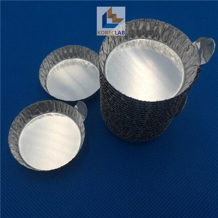 帶手柄鋁制稱量盤 鋁箔稱量盤 稱量盤 稱量皿 中號 1