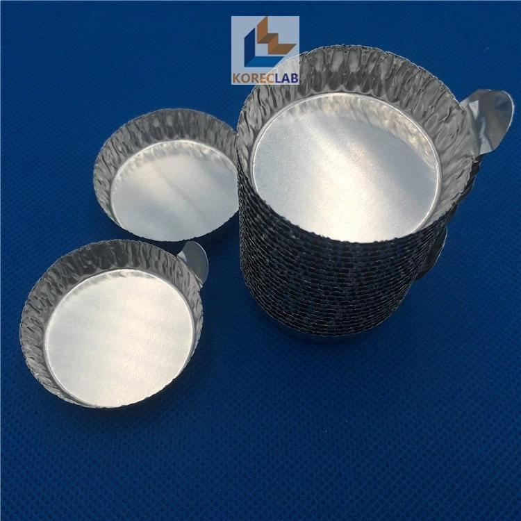 40ml medium size aluminum weighing boat evaporating dish weighing dish