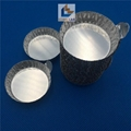 40ml medium size aluminum weighing boat evaporating dish weighing dish