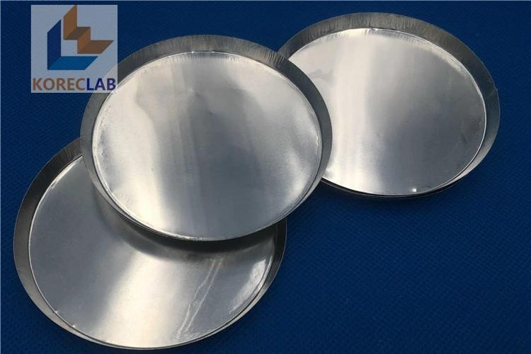 55ml For Moisture Analyzer Aluminum Foil Weighing Pans With Smooth Wall  2