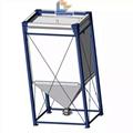 Customized 50m3 plastic molding factory flexible pellet storage silo  2