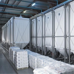 可定制的柔性灵活高性能织物工业散装物料存储料仓