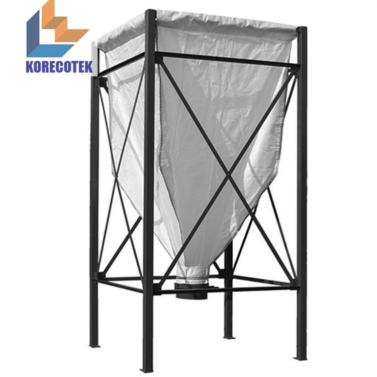 Grain storage container trevira fabric flexible silos  1