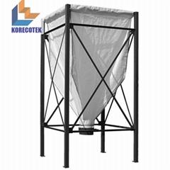 生產製造重型噸袋布袋食品塑料顆粒粉體儲l料倉糧食飼料存儲料倉